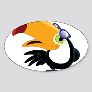 Cartoon Toucan Sticker