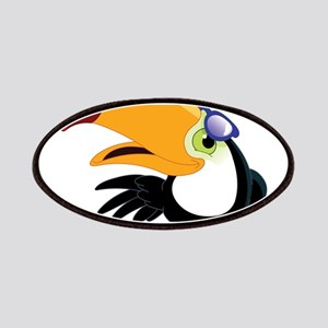 Cartoon Toucan Patches