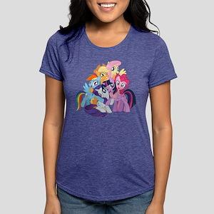 MLP Friends Womens Tri-blend T-Shirt