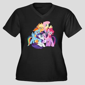 MLP Friends Plus Size T-Shirt
