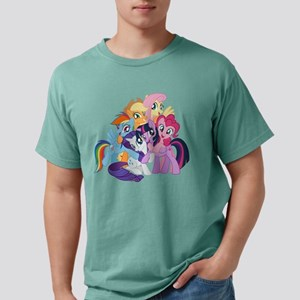 MLP Friends Mens Comfort Colors Shirt