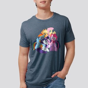 MLP Friends Mens Tri-blend T-Shirt