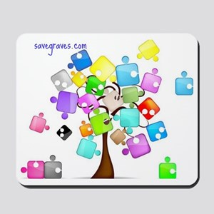 Family Tree Jigsaw Mousepad
