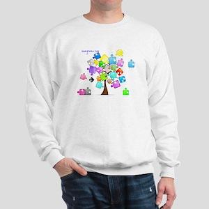 Family Tree Jigsaw Sweatshirt