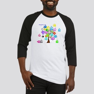 Family Tree Jigsaw Baseball Jersey