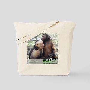 Monkey Hugs Tote Bag