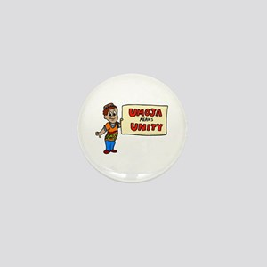Umoja means Unity - Kwanzaa Mini Button