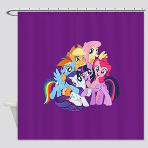 MLP Friends Shower Curtain
