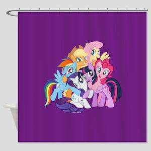 MLP Friends Shower Curtain