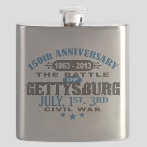 150 Gettysburg Civil War Flask