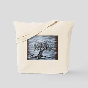 Furever Love Tree Tote Bag
