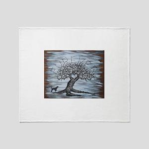 Furever Love Tree Throw Blanket