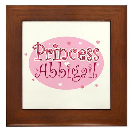 Abbigail Framed Tile