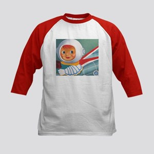 Space Patrol-Kids Baseball Jersey
