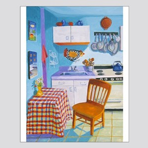 Sunday morning kitchen-Small Poster