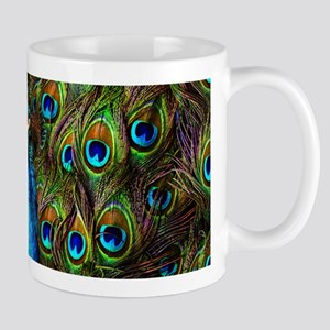 Peacock Watch! Mug