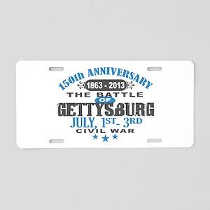 150 Gettysburg Civil War Aluminum License Plate