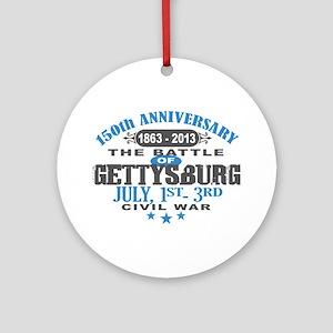 150 Gettysburg Civil War Ornament (Round)