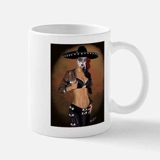 Mariachi Pin-up Art Mug
