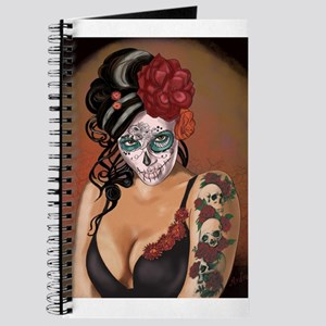 Skulls and Roses Muertos Journal