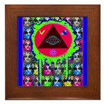 Atomic Animal Sciences Framed Tile