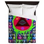 Atomic Animal Sciences Queen Duvet