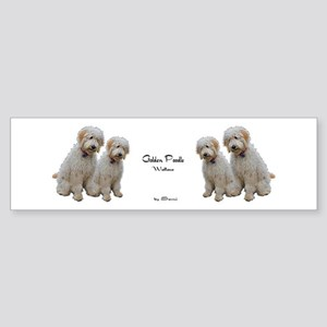 Goldendoodle: Wallace Bumper Sticker
