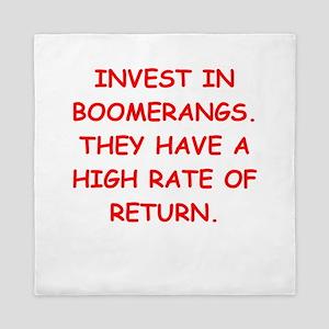 boomerang Queen Duvet