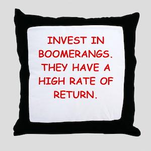 boomerang Throw Pillow