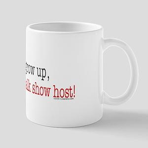 ... a talk show host Mug