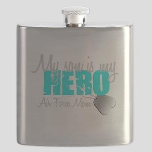 AF Mom Son is my Hero Flask