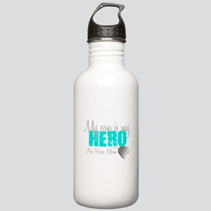 AF Mom Son is my Hero Water Bottle