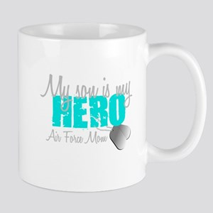 AF Mom Son is my Hero Mug