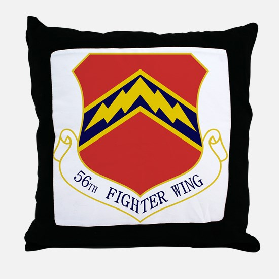 56th FW Throw Pillow