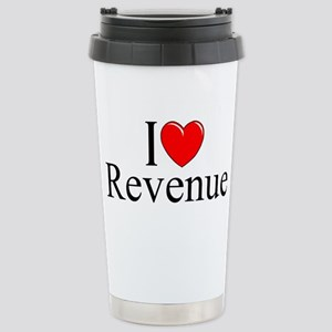 """I Love (Heart) Revenue"" Mugs"