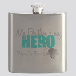 AF Sister Brother is my hero Flask