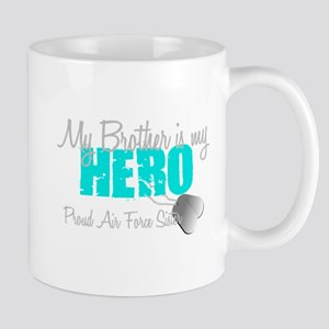 AF Sister Brother is my hero Mug