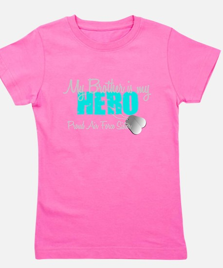 AF Sister Brother is my hero Girl's Tee