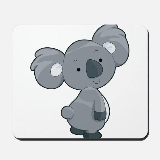 Cute Gray Koala Mousepad