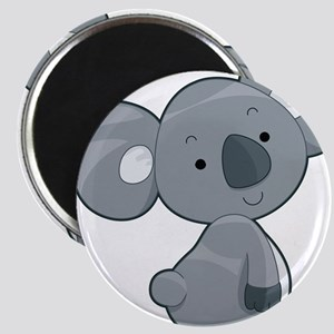 Cute Gray Koala Magnet