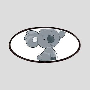 Cute Gray Koala Patches