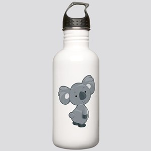 Cute Gray Koala Water Bottle