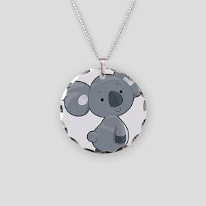 Cute Gray Koala Necklace