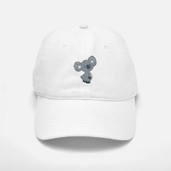Cute Gray Koala Baseball Cap