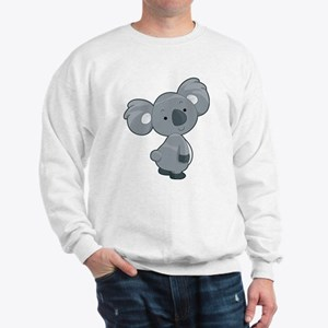 Cute Gray Koala Sweatshirt