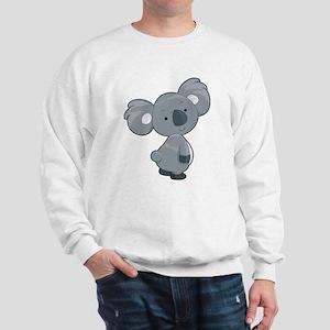 Cute Gray Koala Sweatshirt