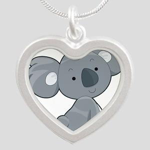 Cute Gray Koala Necklaces