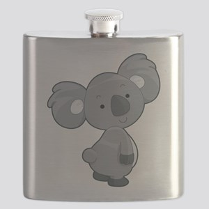Cute Gray Koala Flask