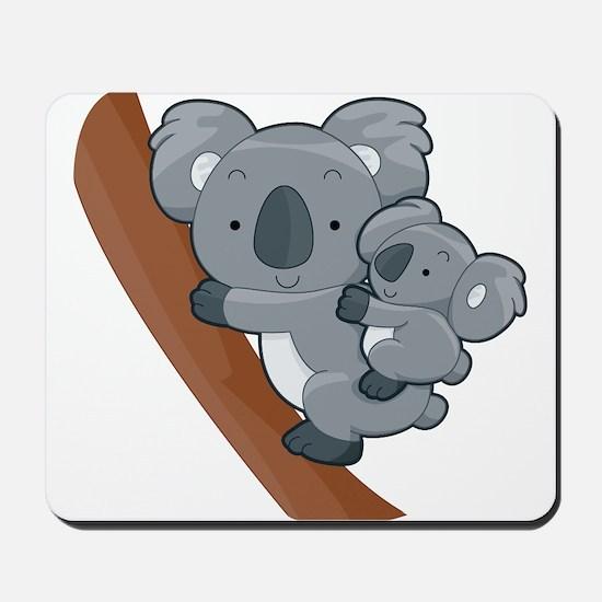 Two Koalas Mousepad