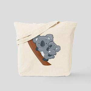 Two Koalas Tote Bag